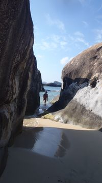Tom at Sandy Bay near Baths - 4