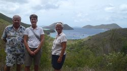 Johnny Horn Overlook to Leinster Bay