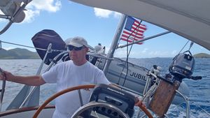 Ted at the Helm