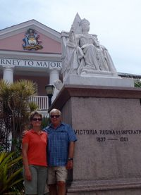 Audience with Queen Victoria in Nassau - short