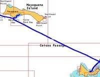 Turks and Caicos to Mayaguana Passage