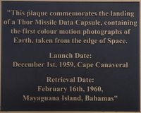 Thor Plaque Mayaguana