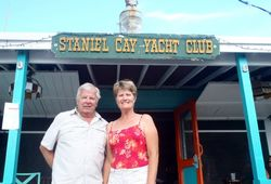 S&L at Staniel Cay Yacht Club - short