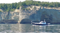 Jubilee in the sun at Pictured Rocks
