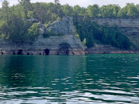 Miner's Castle at Pictured Rocks National Lakeshore