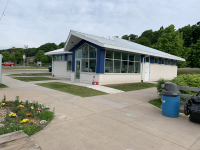 New Marina Services Building at Marquette